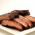 Lip-smacking St. Louis-style ribs