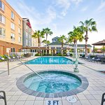 You can relax in the Southwest Florida sun at our outdoor pool and spa.