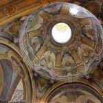 Kopuła z XVII wiecznymi freskami