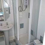 Shower from the King-size room
