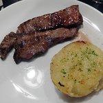 Entraña al Grill con Patata al Caliu