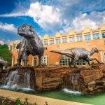 The Dinosaur Plaza at Fernbank Museum of Natural History, Atlanta.