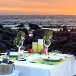 """Sunset & Stars"" private dinner on the beach."