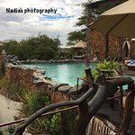 Truly breathtaking pool located right on top of the hill overlooking vast Serengeti plains!