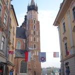 View of the Marianska church