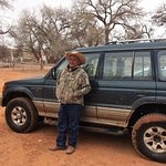 James Yazzie, our guide