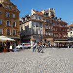 The beautiful Castle Square.