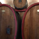 You can see the beautiful oak barrels that age the delicious Amarone