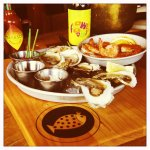 Freshly shucked Oysters and Clams are a specialty!