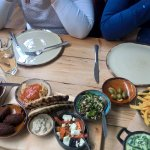 Meze-style Veggie Board for sharing