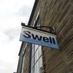 Swell, a lovely cafe in Robin Hood's Bay.