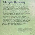 Description of history of building