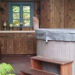 Volcano Teapot Cottage Foto