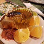 For the brave - aged mezcal with scorpion(optional to eat)! (mezcal is typically aged In Zac).