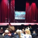 The stage set for Danny Baker's 2017 From Cradle to Stage tour