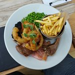 A very generous mixed grill