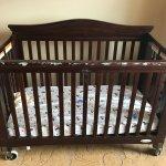 Full size baby crib
