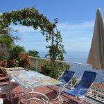 From the balcony of Villa Fiorentino