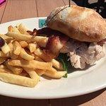 Turkey and brie sandwich
