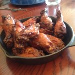 Smo-fried wings