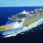 this is a photo of the Oasis of the Seas from Royal Caribbean International.