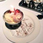 A dessert surprise for my birthday!