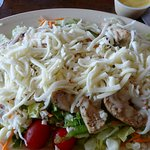 Grilled chicken salad!