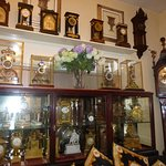 A few of the many clocks