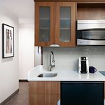 Kitchenette in Superior and One Room Suites