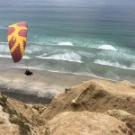 Paragliding at Torrey Pines, San Diego, CA - 5-2-17