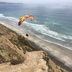 Paragliding at Torrey Pines, San Diego, CA 5-2-17