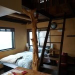 "Hinoki Suite, and the ""treehouse"""