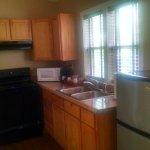 Cabin #16 kitchen area.