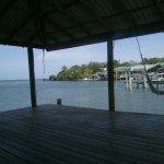 The view from the palapa at the dive shop. Great place to relax in between dives.