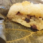 Steamed sticky rice wrapped in lotus leaf (珍珠糯米鷄)