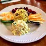 Curry-chicken Salad.