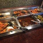 Salt & Pepper Shrimp (lower left) tasteless