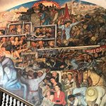 Murales de Diego Rivera en la Secretaría de Educacion Publica Foto