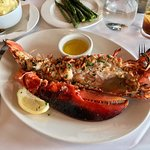 3,5 pounds grilled lobster