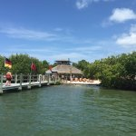 Barnacles Beach restaurant. The Northern Captiva Island is only accessible by boat!!