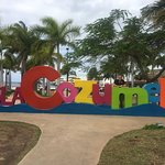New Cozumel sign