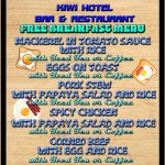 Free Breakfast Menu