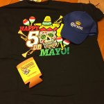 They gave away some pretty good gifties on Cinco De Mayo!