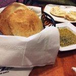 warm bread and zahtar