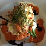 Crab Stuffed Tasmanian Salmon