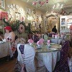 The restaurant interior.