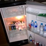 Interior of fridge