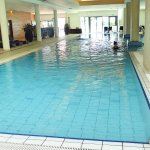 Indoor pool at Hotel Lacroma.