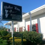 the sign for Walker Bros. Original Pancake House