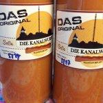Original Kanalwurstsauce für 3€ die Flasche (500ml)
